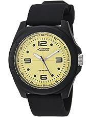 Armitron AD1012YLBKBK Reloj Análogo para Hombre, color Amarillo/Negro
