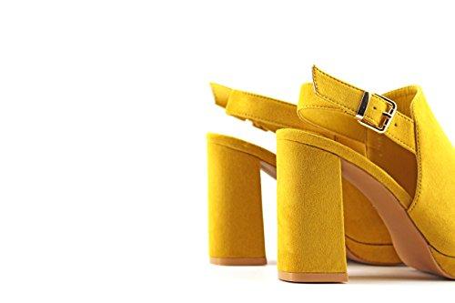 MODELISA Damen Zehentrenner Gelb