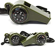 RBOBO Compass Hiking,Orienteering Compass,Outdoor Whistle,Thermometer,Hiking Backpacking Compass,for Camping H