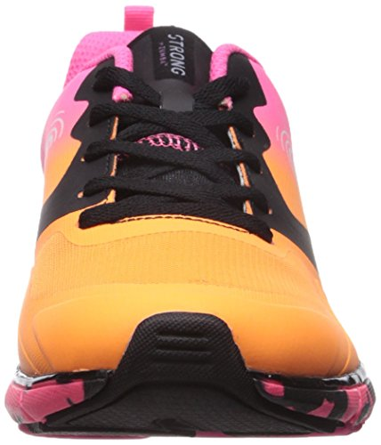 Sneakers with High Fit by Support Compression Workout Fly Orange STRONG Athletic Zumba Impact q0CwYYR