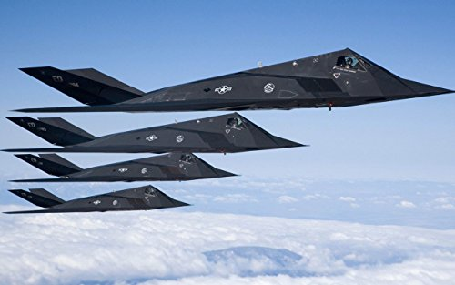 Military F-117 Nighthawk Stealth Fighter1 - 24X36 Poster