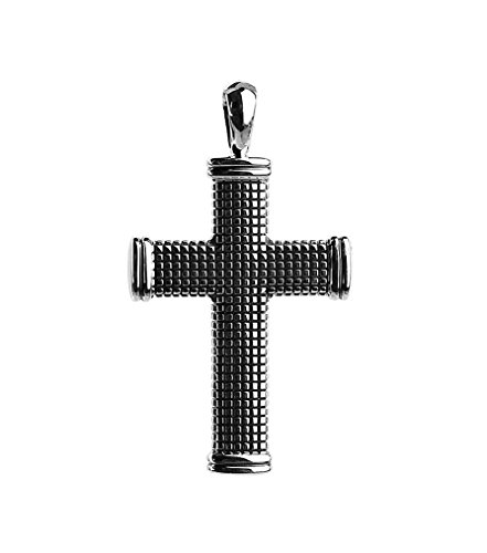 David Yurman STERLING SILVER SMALL 30 mm SKY CROSS PENDANT ENHANCER NEW BOX 11P (Cross David Yurman)