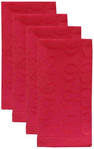 Kate Spade New York All Wrapped Up Napkin Set - Cranberry - 4 ct (Set Up Napkin)