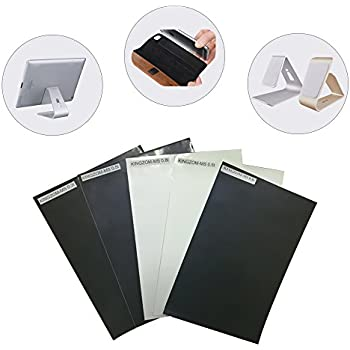 Nano Micro Suction Tape No Residue for Cell Phone Car Cradles Mounts and Cases 200mm300mm Sheet (Black 0.8mm thickness)