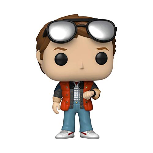 Funko Pop! Peliculas Regreso al Futuro Marty Checking Watch (edicion Limitada de la Convencion de Verano 2020) # 965
