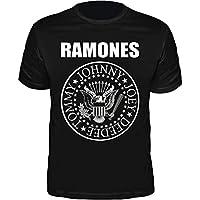 Camiseta Ramones Hey Ho, Lets Go