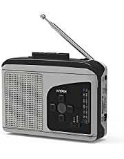 AM/FM Radio Cassette Player Recorder, Voice Recorder, MYPIN Portable Walkman Cassette Player, Audio Cassette Tape to Digital MP3 Converter Player with Built-in Speaker Earphone, No Need Computer