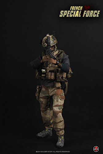 French Soldier Figure - Soldier Story French Special Forces 1/6 Scale SS085