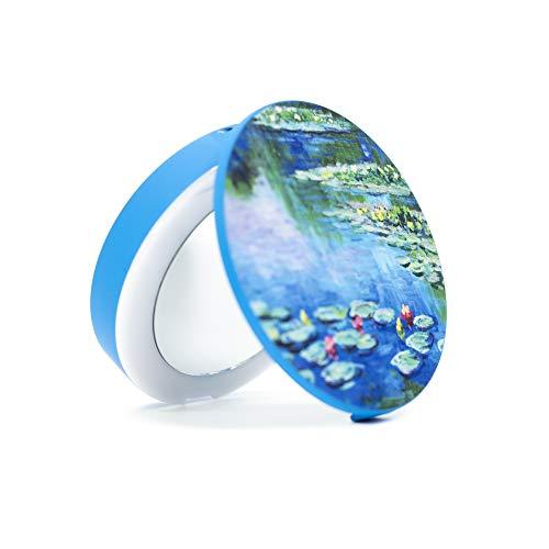 Cipe Mirror Compact Waterprint 5,000mah Powerbank Portable Charger, Pond