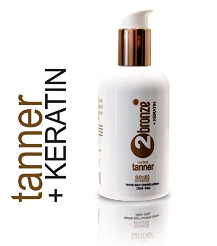 Rejuvenating Self Tanning Lotion 2bronze with Keratin | Best
