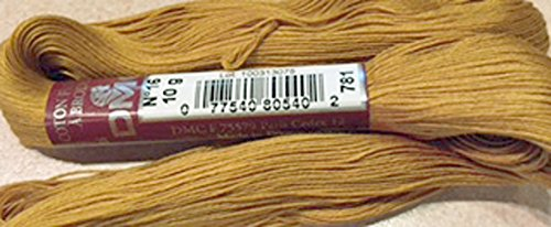 FLOCHE-DMC COTON FLOCHE A BRODER-COLOR 781-MUSTARD BROWN-YOU