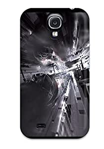 New Arrival Cover Case With Nice Design For Galaxy S4- Artistic Abstract