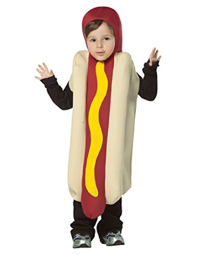 Rasta Imposta Hot Dog Childrens Costume, 4-6