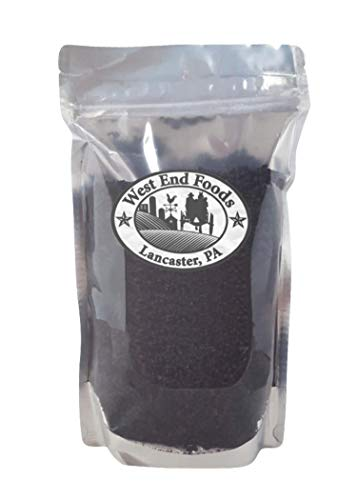 Transitional Organic Elderberry Dried Fruit Whole, Grown in the USA, 1lb by West End Foods