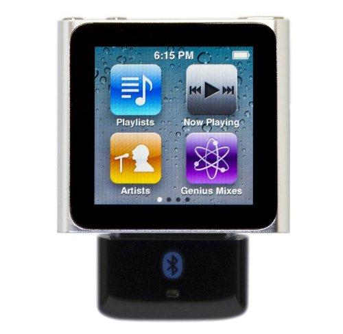 KOKKIA i10s_Plus_i10sTwin: i10s (Black) Tiny Bluetooth Transmitter Compatible with Apple iPod/iPhone/iPad + i10sTwin Tiny EDR (Enhanced Data Rate) Bluetooth Stereo Headset by KOKKIA (Image #2)