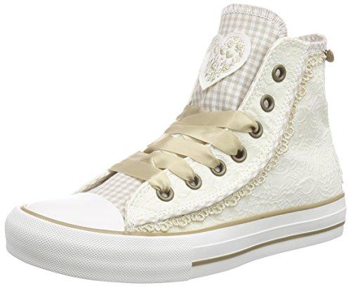 Krüger Madl Damen Sneaker Cream Dream High-Top Beige (ecru 2)