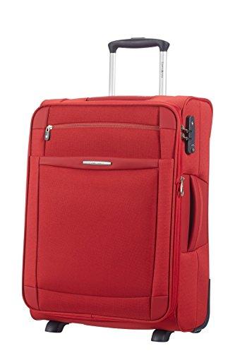 Samsonite Dynamo Upright 55/20 Expandable Cabin Luggage, 55 cm, 48 L, Red