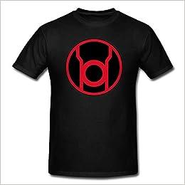 Green Lantern Red Lantern Symbol T-Shirt Red