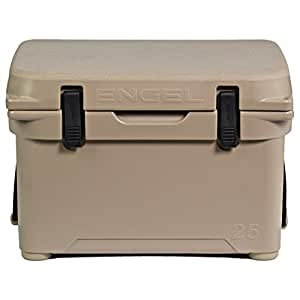 Engel ENG25T DeepBlue Performance Cooler, Hold Ice for 6-8 Days, Tan
