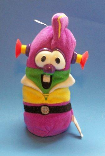 "GUND Veggie Tales Bean Bag: Mixed up Larry Boy 9"""