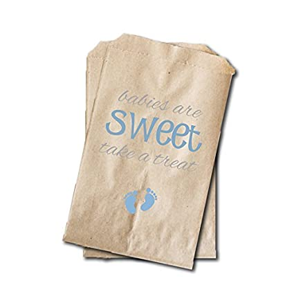Amazon Baby Feet Candy Bags Boys Baby Shower Favor Bags