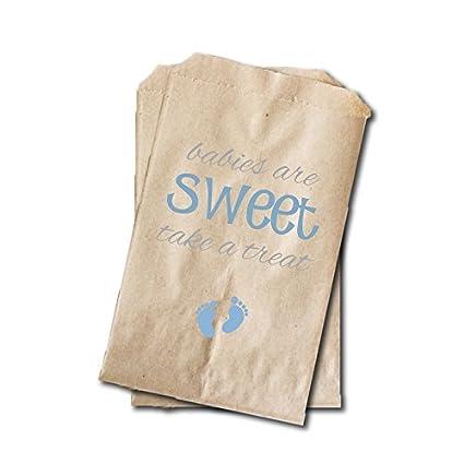 Amazon.com: Pies de bebé Candy bolsas de – para niños bebé ...