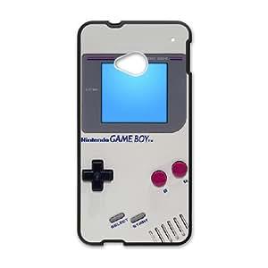 Pokemon Gameboy Htc One M7 Hard Plastic Clip on Case