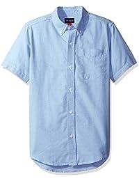 Boys' Short Sleeve Uniform Oxford Shirt