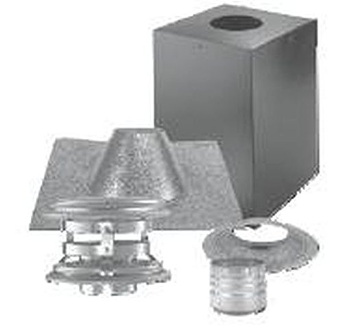 Dura-Vent 4PVP-KVB PelletVent Pro Vertical Cathedral Ceiling Venting Kit ()
