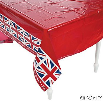 British Party Tablecloth - 54