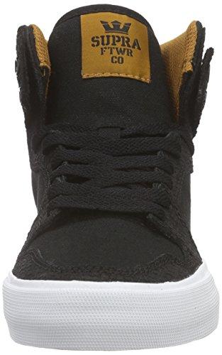 Spice Cathay Sneaker High Top Supra White Vaider Black vYnXO1
