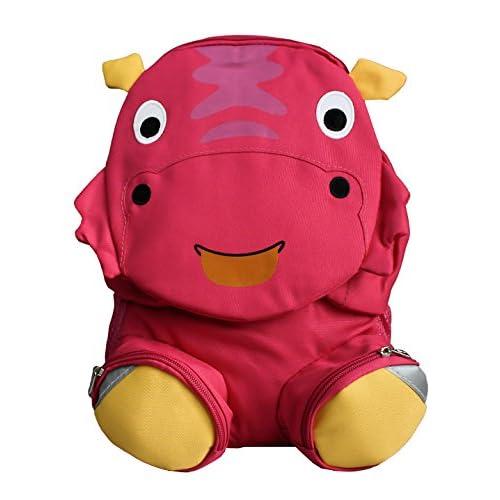 9c33fc257 Emartbuy Mochila Elegante Para Niños, Bolsa De Viaje Para La Escuela -  Rinoceronte Rosado 70