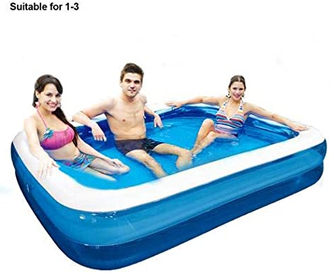 Summer Large Thickened Inflatable Swimming Pool Family Kids Adult Garden Outdoor