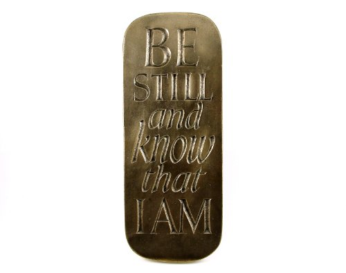 Be Still And Know That I Am Plaque Wild Goose From Ireland