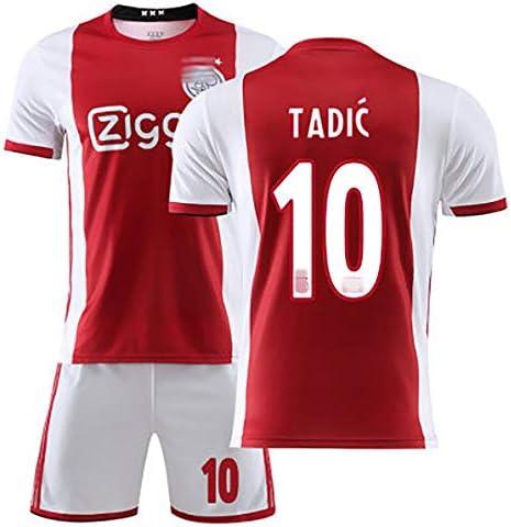 メンズフットボールユニフォーム、ブラインド17の19-20フットボールユニフォーム#Tadic 10#アダルトフットボールユニフォームジャージ+ショーツフ
