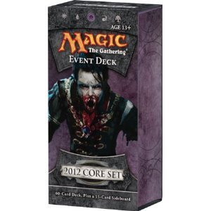 Magic the Gathering M12 2012 Event Deck Vampire Onslaught by Wizards of the Coast