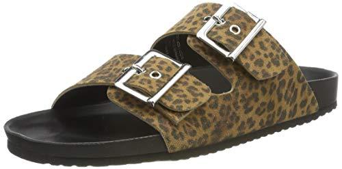 Tamaris Para black 090 90 1 leopard Mujer 32 27148 Mules 1 Multicolor BTBHrw4