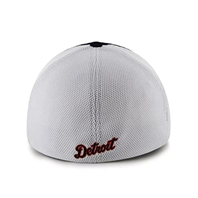 MLB Detroit Tigers Draft Day Closer Stretch Fit Hat, One Size, Navy