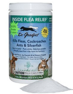 Price comparison product image Dr. Goodpet Inside Flea Relief All Natural 99.9% Borate Crystals Kills Fleas, Cockroaches, Ants, Silverfish, Ticks, Termites, Spiders and Bed Bugs