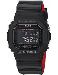 Casio Mens G SHOCK Quartz Resin Casual Watch, Color:Black (Model: DW-5600HR-1CR)