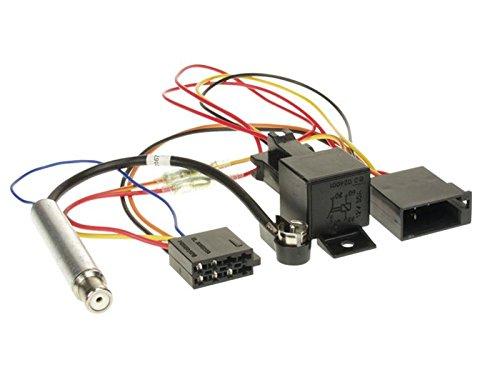 ACV 1321-47 Radioanschlusskabel für VW/Audi/Seat/Skoda (ISO, Phantomeinspeisung)