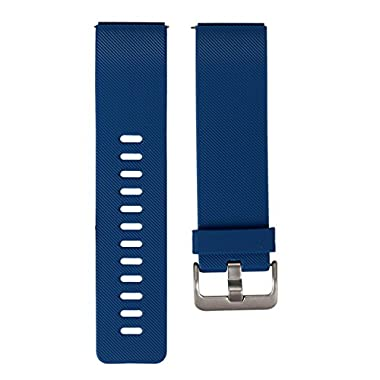 bayite Replacement Classic Bands for Fitbit Blaze Smart Watch, Blue, Large 6.7-8.1 inches