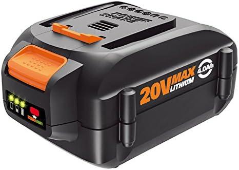 Amazon.com: WORX Batería de ion litio de 20V, alta ...