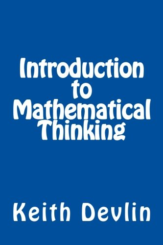 Cover of Introduction to Mathematical Thinking