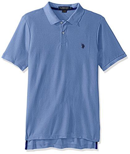 U.S. Polo Assn. Men's Ultimate Pique Polo, Artists Blue, L