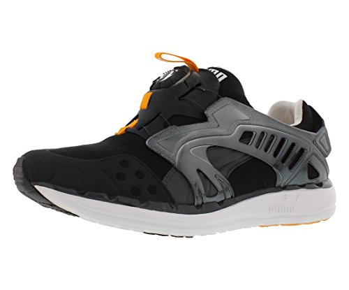 Puma Men's Future Disc Lite Tech'D Out Athletic Sneaker, Black/Zinnia, 10 M US