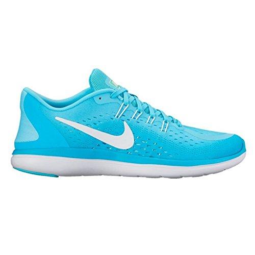 Nike Ladies Flex 2017 RN Running Shoes - Polarized Blue
