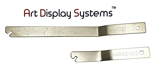(ADS T-Screw Security Picture Hanger Wrench Set - 2 Pack by ART DISPLAY SYSTEMS)