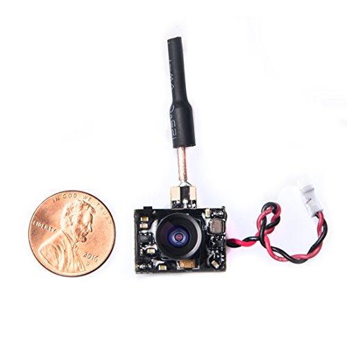 Wolfwhoop WT03-D Micro FPV AIO 600TVL Camera 5.8G 40CH 25mW/50mW/200mW adjustable Transmitter with Dipole Brass Antenna for Mini Aircraft