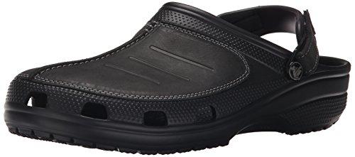 (crocs Men's Yukon Mesa Clog , Black/Black, 8 M US)